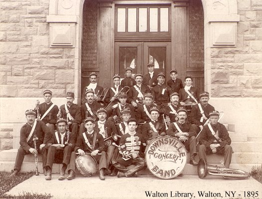 Downsville Band - 1895