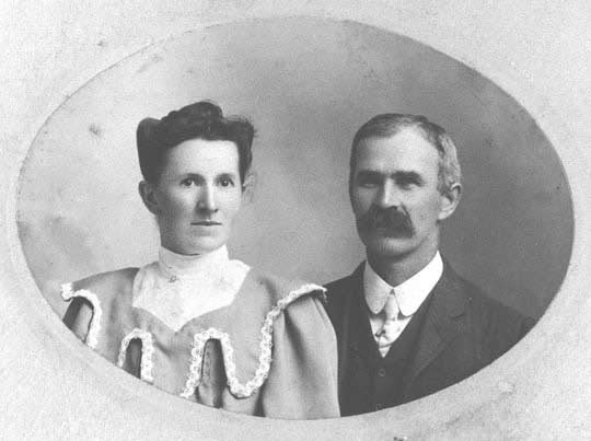 Lillian Cook Pierce Henderson and John Henderson