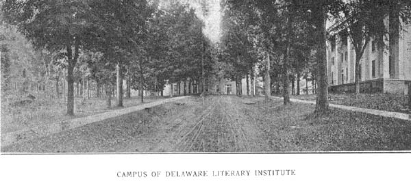 Campus of Delaware Literary Institute