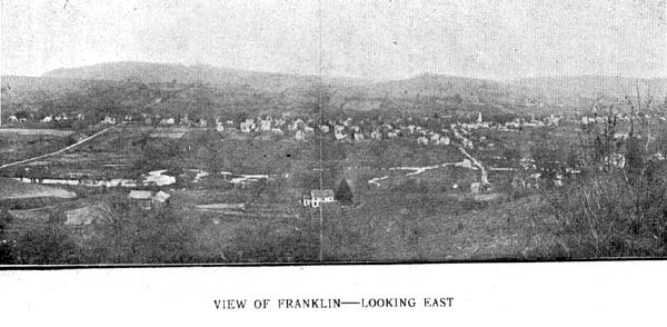 View of Franklin looking East