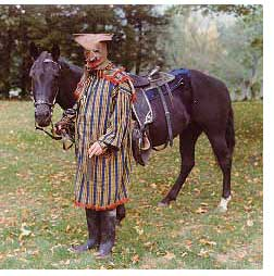 Anti-Rent War Costume and Horse