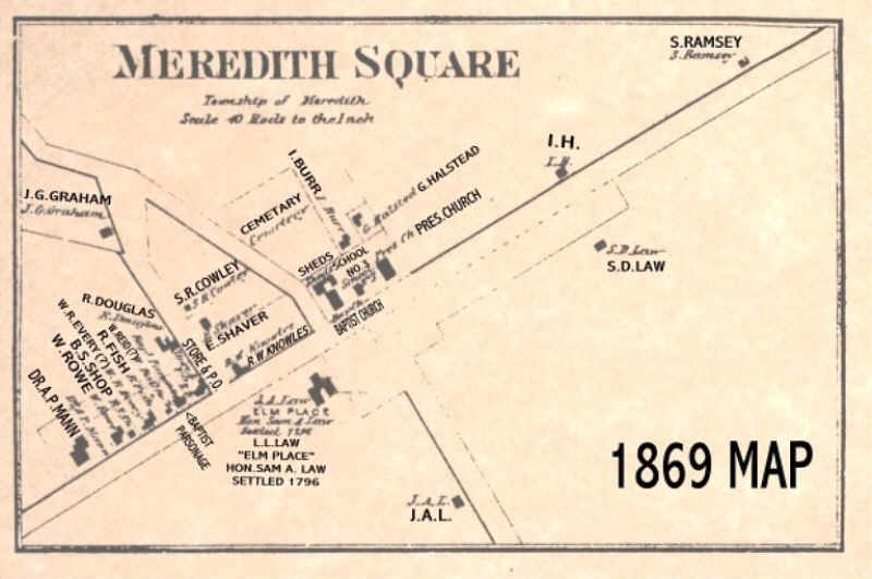 Meredith Square - 1869