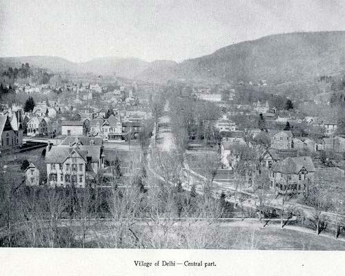 Centennial History of Delaware County, New York : 1797-1897delhi village