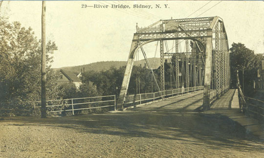 River Bridge, Sidney, NY