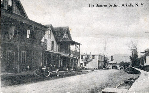 Business Section, Arkville