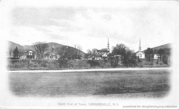 North End of Town, Cannonsville NY