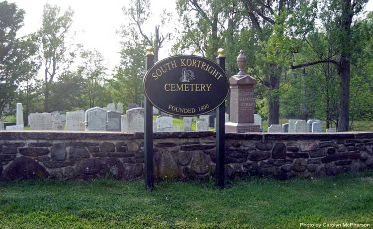 TOWN OF STAMFORD - South Kortright Cemetery Photo - Delawarekortright town