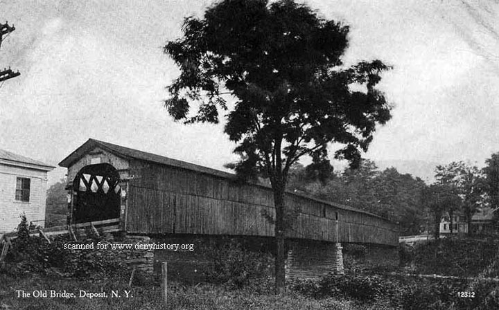Old Covered Bridge at Deposit