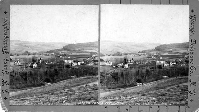 Stereoview - Youngs, NY
