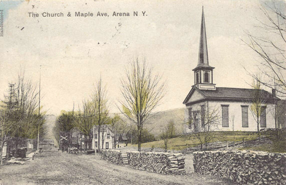 Arena, The Church and Maple Avenue